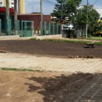 plantação de grama preparar terreno